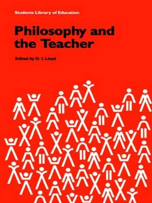 Philosophy and the Teacher