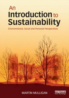 Introduction to Sustainability Environmental Social & Personal Perspectives