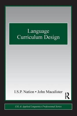 Language Curriculum Design