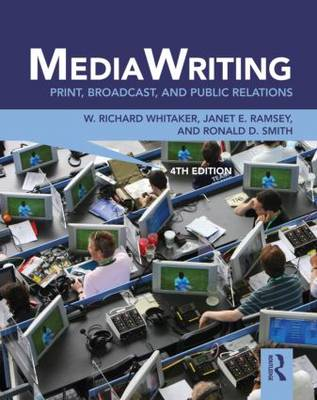 MediaWriting  Print, Broadcast, and Public Relations