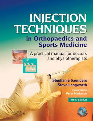 Injection Techniques In Orthopaedic & Sports Medicine 3ed + Cdrom
