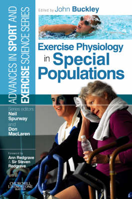Exercise Physiology in Special Populations: Advances in Sport and Exercise Science