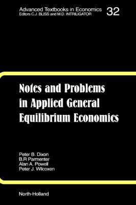 Notes and Problems in Applied General Equilibrium Economics: Volume 32