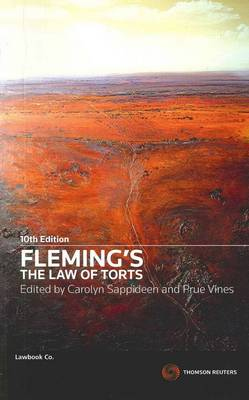Fleming's The Law of Torts 10th Ed SC