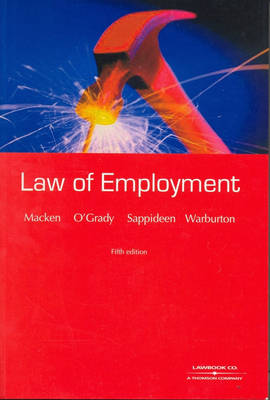 The Law of Employment