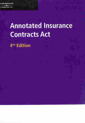 Annotated Insurance Contracts Act