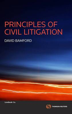 Principles of Civil Litigation