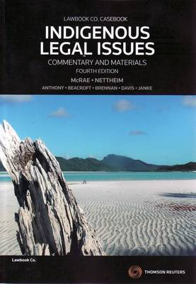 Indigenous Legal Issue C&M 4e