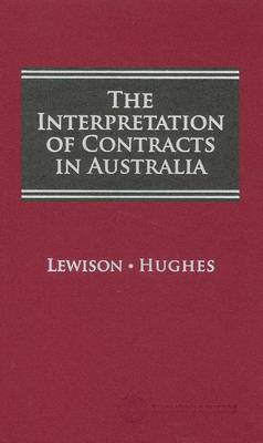 Interpretation of Contracts in Aust 1e