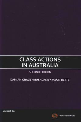Class Actions in Aust 2nd Ed. SC