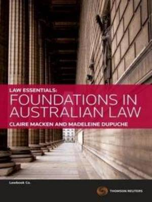 Law Essentials: Foundations in Australian Law