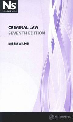 Nutshell: Criminal Law 7th Edition