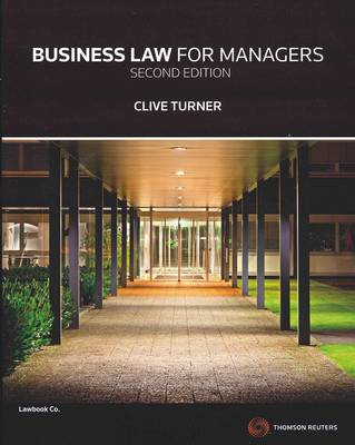 Business Law for Managers - custom publication