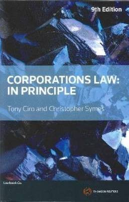 Corporations Law: In Principle 9e