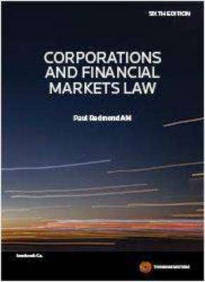 Corporations and Financial Markets Law 6th Edition