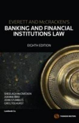 Banking & Financial Institutions Law 8e