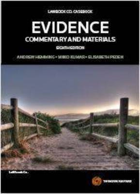 Evidence: Commentary & Materials 8th