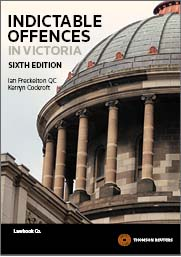 Indictable Offences in Victoria 6e