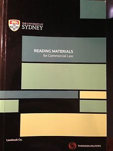 Reading Materials for Commercial Law