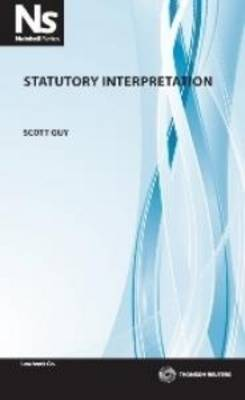 Nutshell: Statutory Interpretation