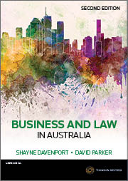 Business and Law in Australia 2nd Edition