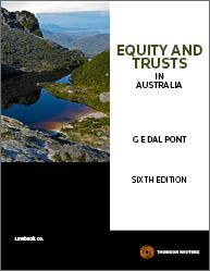 Equity & Trusts in Australia 6e