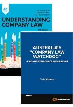 Company Law Watchdog + Understanding Company Law 17th Edn + Corporations Legislation 2015 VALUE PACK Contains 3 Books