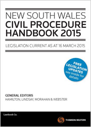 New South Wales Civil Procedure Handbook 2015