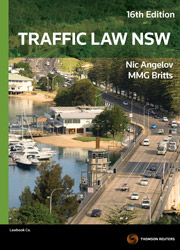 Traffic Law NSW 16e