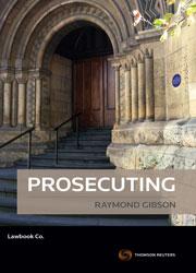 Prosecuting