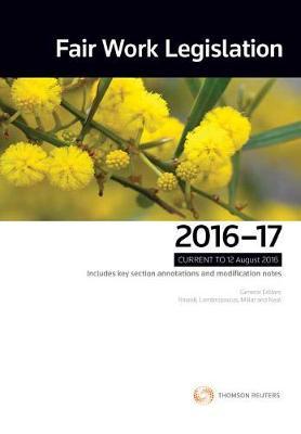 Fair Work Legislation 2016