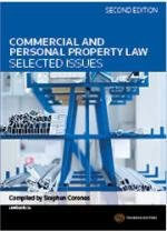 Commercial and Personal Property Law Selected Issues
