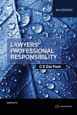 Lawyers' Professional Responsibility 6th Edition