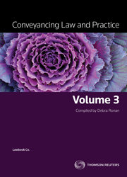 Conveyancing Law and Practice Vol 3