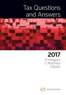 Tax Questions and Answers 2017