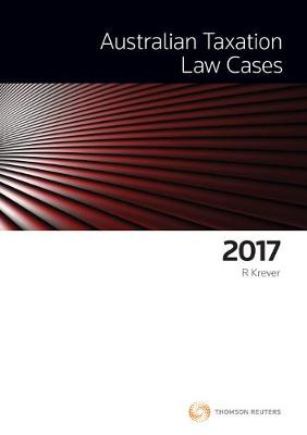 Australian Taxation Law Cases 2017