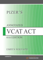 Pizer's Annotated VCAT