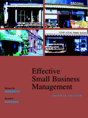Effective Small Business Management: Wiley Student Edition