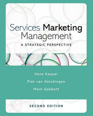 Services Marketing Management: A Strategic Perspective