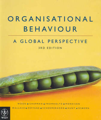 Organisational Behaviour: A Global Perspective