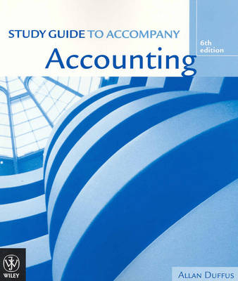 Accounting: Study Guide