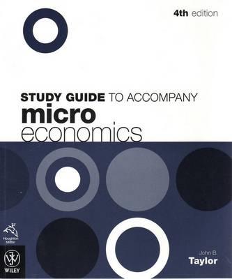 Microeconomics 4E Study Guide