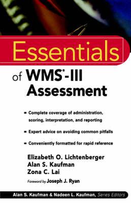 Essentials of WMS-III Assessment
