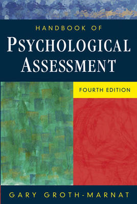 Handbook of Psychological Assessment