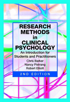 Research Methods in Clinical Psychology: An Introduction for Students and Practitioners 2E