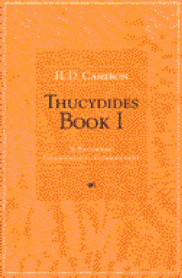 Thucydides: A Students' Grammatical Commentary: Bk. 1
