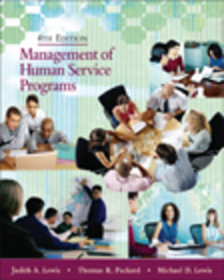 Mgt Human Serv Prog 4e