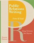 Public Relations Writing: Form & Style (with Errata Sheet) +exercise Workbook 8ed