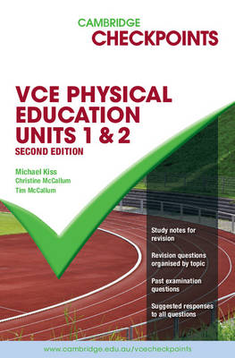 Cambridge Checkpoints VCE Physical Education Units 1&2 Second Edition