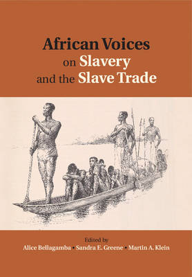 African Voices on Slavery and the Slave Trade: Volume 2, Essays on Sources and Methods